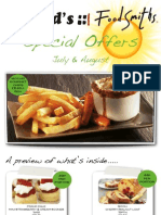 July - August 2012 Offers