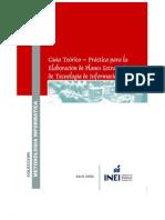 Guia - Teorico Practica para La Elaboración de Planes de Tecnologias de Información