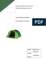Proiect Marketing Analiza Pietei Produsului