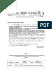 PORTARIA/MINISTERIO SAUDE  1.369 Habilita o RN Receber Recursos Federais Para Saude