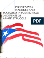Towards People's War for Independence and Socialism in Puerto Rico