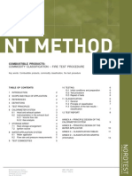 Nordtest Method Nt Fire 049