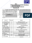 IIPM & ISBE a IV Semester Permanent Schedule (1)
