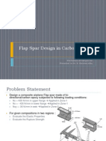 Flap Spar Design in Carbon