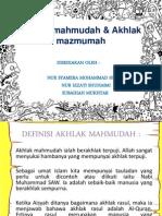 Akhlak Mahmudah & Akhlak Mazmumah