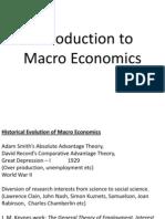 Macro Economics BBM
