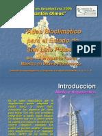 Atlas Bioclimático San Luis Potosí (Proyecto)