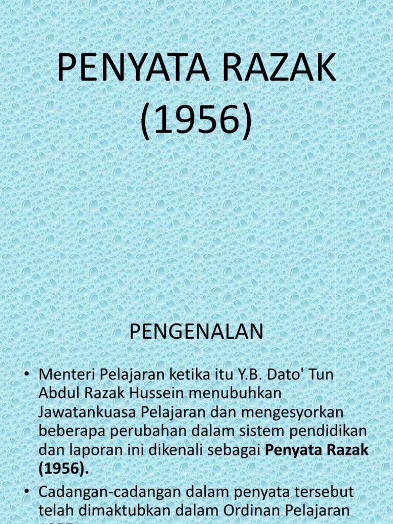 Penyata Razak 1956