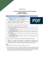 Emision-Reposicion Certificado Jurdica