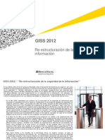 GISS 2012 - InfoSec Re-Invented