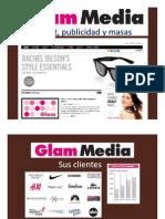 Glam Media, Internet, Publicidad y Masas