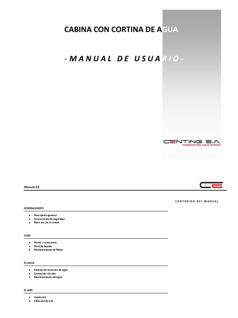 Manual Cabinas CA