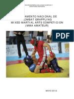 Reglamento Combat Grappling (MMA Amateur) 2012