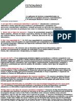questionario de automaçao ; Luigi Axell