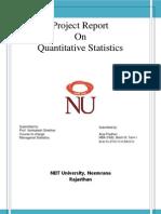 Arya Statistics 11