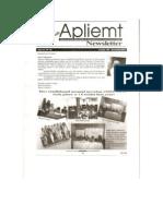 Apliemt Newsletter, ano xi, n. 16, Cuiabá novembro 2011
