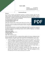 Professional Profile SrtVsAdd 6-1-2012pdf