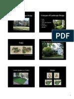 Priciples of Landscape Design