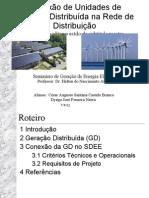 Apresentacao Geração Distribuída (GD)