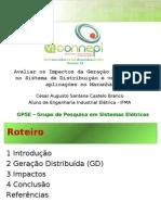 Apresentação GD 28.07.2011 - GPSE IFMA - Iniciação Científica