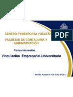 Vinculación Sector Empresarial - Universitario