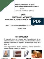 Los Materiales Metalicos-para Alumnos
