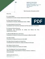 Resposta da Anglous Ferrous - Recomendação Conjunta