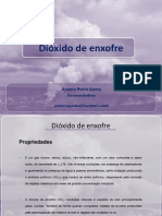 Dióxido de enxofre