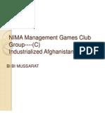 NIMA Management Games Club