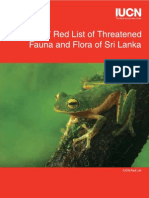 The 2007 Red List of threatened fauna and flora (Sri Lanka)