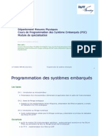 Cours Programmation Des Systemes Embarques 2010 2011