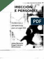 Cap 11 - Gestion del conocimiento - Bonache -  Dirección de Personas