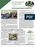 SRHF Newsletter