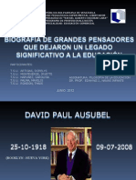 PRESENTACION Biografias de Filosofos