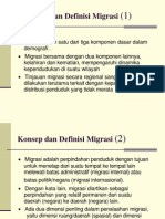 Migrasi Penduduk