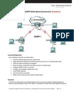 EIGRP Skills Based Assessment