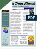 Summer 2012 Enlisted Association Desert Chronicle