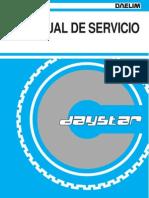 Daelim Daystar Manual de Serviciol