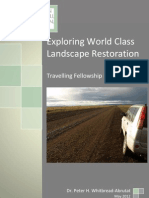 Exploring World Class Landscape Restoration. P.H. Whitbread-Abrutat