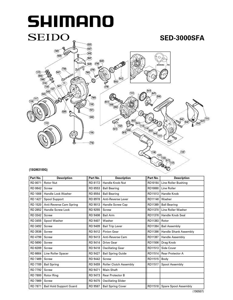 Shimano Seido 3000 SFA