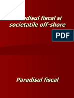Paradisul Fiscal Si Societatile Off-shore