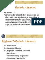 Regimen Tributario Aduanero