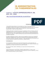 Auditoría administrativa- conceptos fundamentales