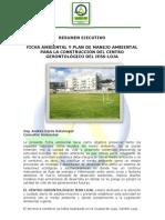 """Resumen Ejecutivo del Proyecto """"Construcción del Centro Gerontológico del Instituto Ecuatoriano de Seguridad Social-Loja"""""""