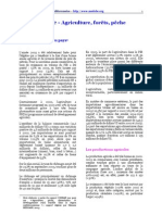 Algerie-Agriculture,forêts et pêche