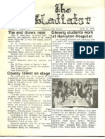 Gladiator Front Page 4-14-72