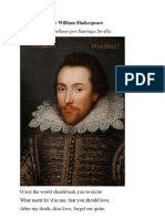 Sonnet LXXII by William Shakespeare Traducido al Castellano por Santiago Sevilla