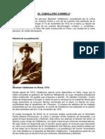 El Caballero Carmelo Es Un Cuento Del Escritor Peruano Abraham Valdelomar