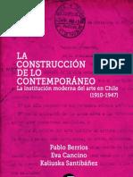 Estudios de Arte-La construcción de lo contemporáneo (extracto)