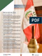 Decálogo Del Juez PERU